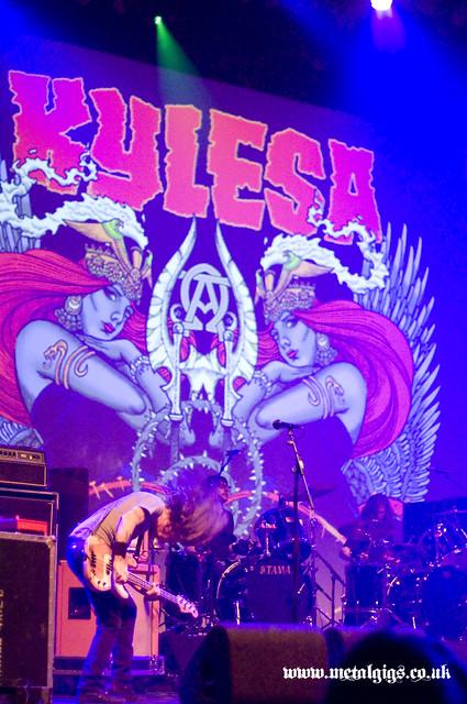Kylesa Circle takes the square ken mode UK tour 2012 gig listings metal gigs www.metalgigs.co.uk