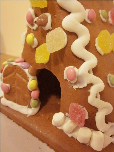 Gingerbread house - before by PhotoPuddle