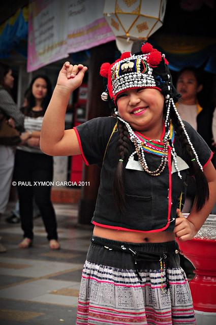 Dancer, Doi Suthep, Chiang Mai, Thailand