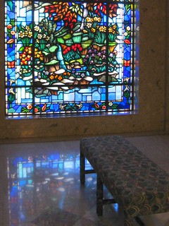 Stained Glass Window, Memorial Mausoleum