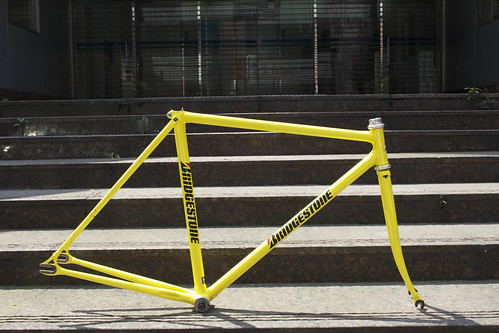 BRIDGESTONE NJS FRAME-NEON YELLOW