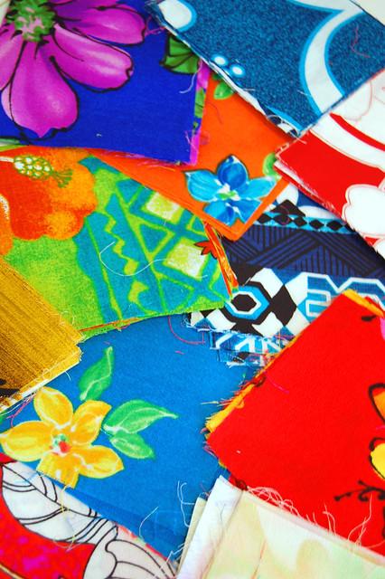 Polynesian Patchwork Prints