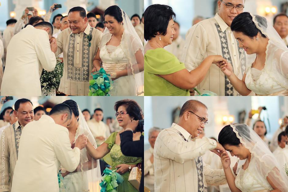 Dauis Church Wedding, Bohol Wedding Photography