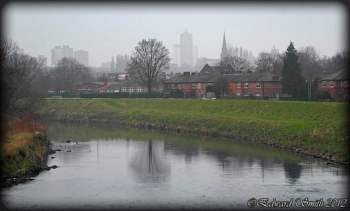 River Irwell and Kersal