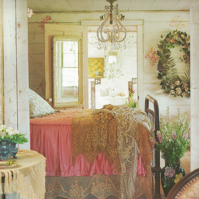 Shabby Chic Boho Bedroom: World's Most Shabby Chic Home Up For Sale