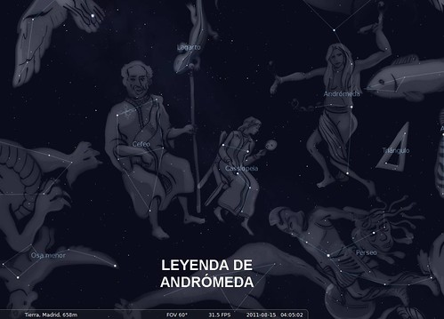 Leyenda de Andrómeda I