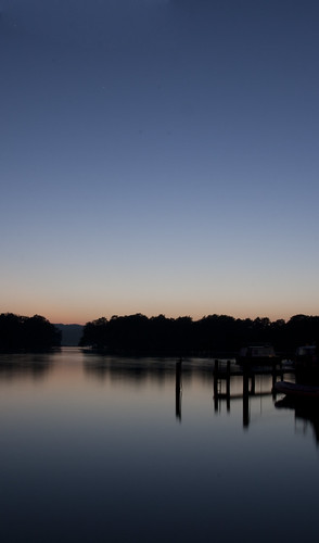 sunset lake water silhouette night canon denmark slow ry 400d
