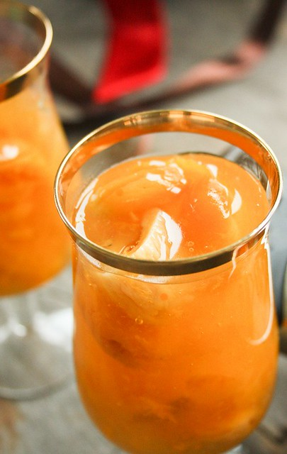 hot dried apricot drink - kisielius
