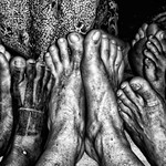 Sekapan Piit Feet, Sarawak, Borneo
