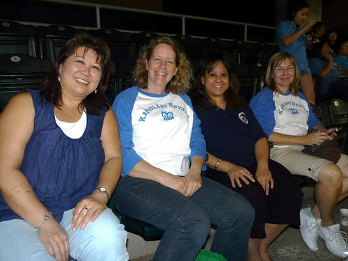 <p>Kapi'olani CC players and fans at at UH AUW Softall Tournament 2011 at Les Murakami Stadium on Sept. 30</p>