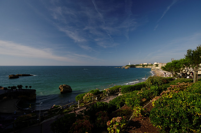 Biarritz, France by Flickr CC Emmanuel DYAN