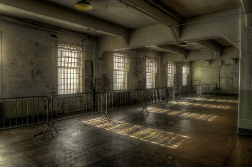 Dining Hall, Alcatraz (HDR)