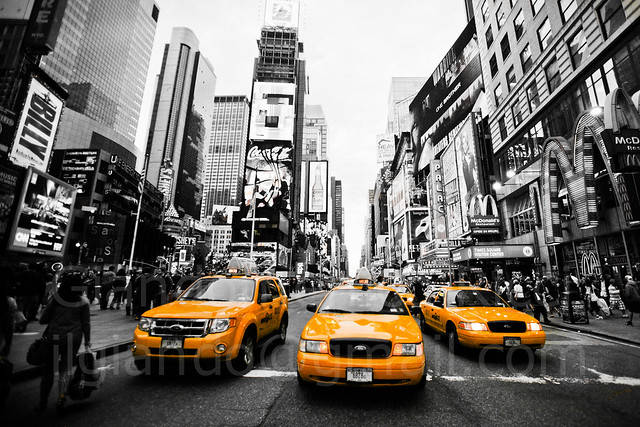 Yellow cab new york 2011 by giandomenico ricci for Investire a new york