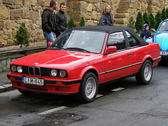 BMW 3 Series Baur TC Convertible E30