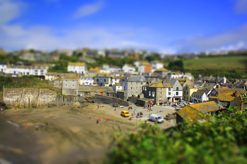 Port Isaac: Tilt Shift (Explored)
