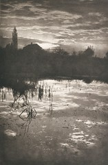 Am Weiher, 1901, by F. Prunnot