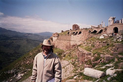 La acrópolis de Pérgamo