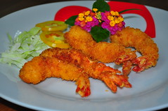 panko, fried food, fried prawn, fish, seafood, produce, food, dish, cuisine, fast food,