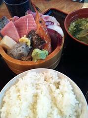 今日のランチはタカマル定食。¥1000 #lunch
