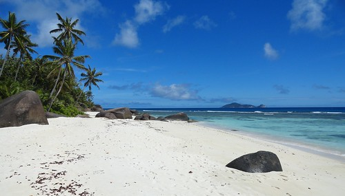 Beach on Silhouette Island, Seychelles