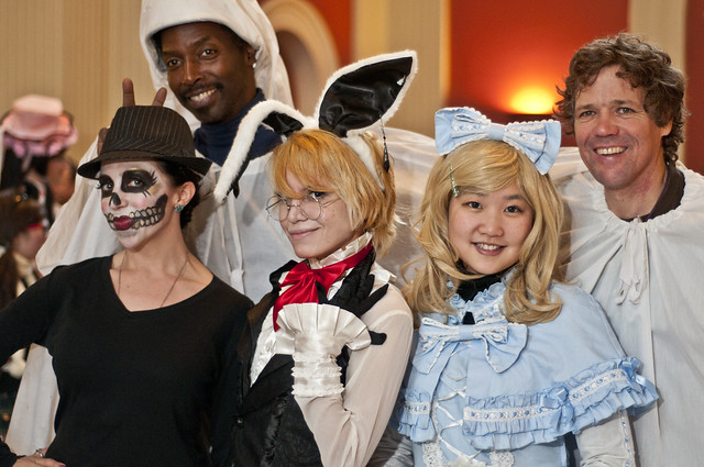 The surprise October snow storm couldn't stop the fun at Ghouls & Gourds 2011. Photo by Mike Ratliff.