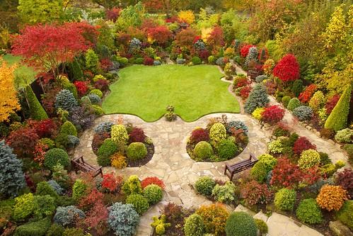 My garden design garden examples for Herbaceous border design examples