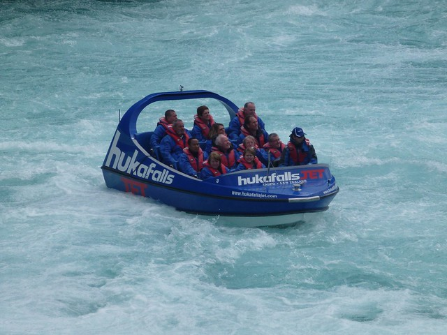 Hands up if you want to go faster on the Huka Falls Jet Boat!