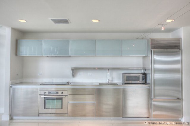 kitchen-cabinets-modern-stainless-steel-002-s24533023 ...