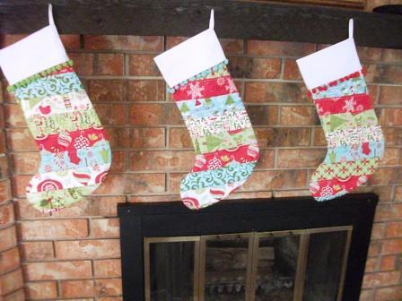 Christmas Stockings Kate Spain
