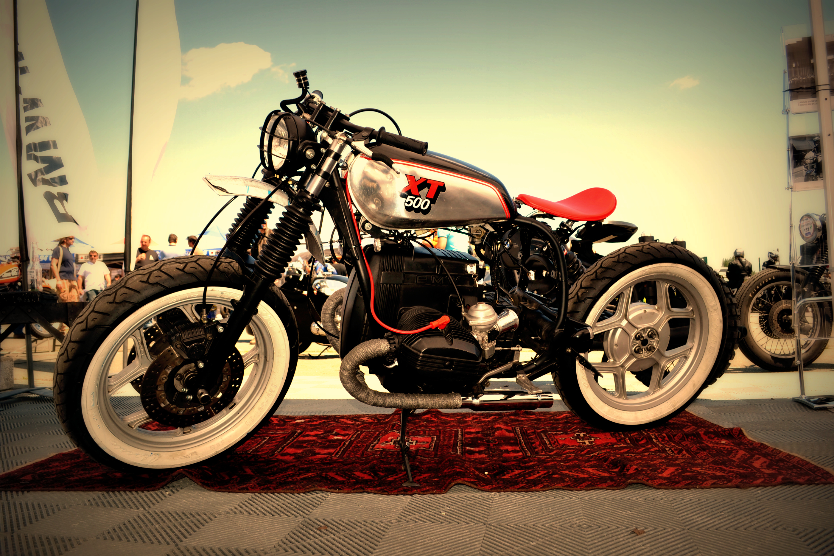 Bmw Xt 500 Iron Bikers Cafe Racer Blitz Motorcycle
