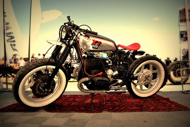 Bmw Xt 500 Iron Bikers Cafe Racer Blitz Motorcycle