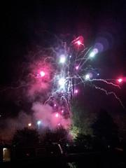 Hebden fireworks 2011.
