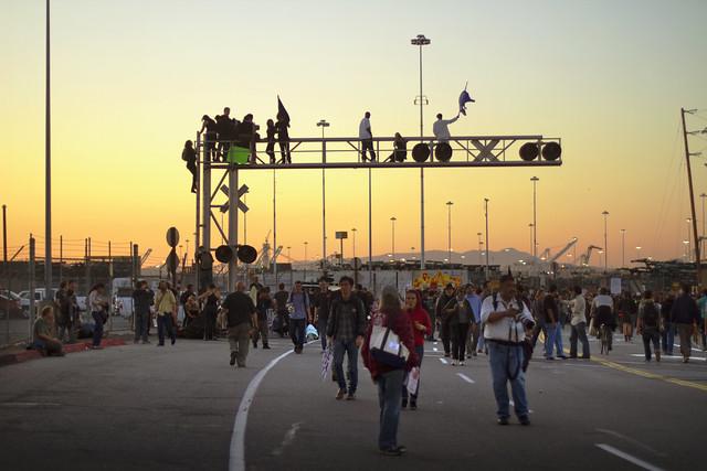 Occupy Oakland, November 2, 2011