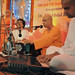 Swami Animeshananda sang the Closing Song after the final session of the Inter-faith Meet held at the Ramakrishna Mission, Delhi.
