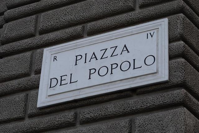 Piazza del Popolo 人民廣場
