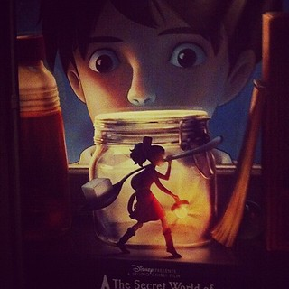 Unbelievably excited! {The secret world of Arietty}