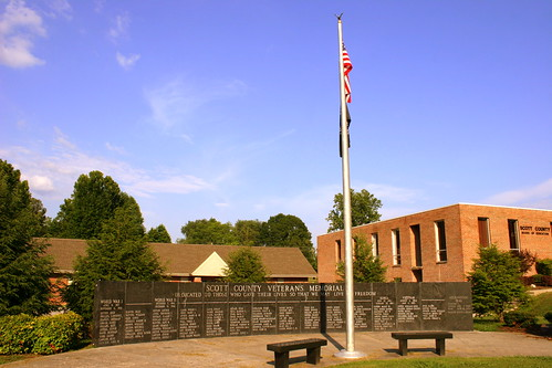 Scott County Veterans Memorial