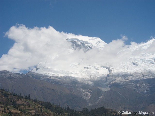 Huascaran's north face