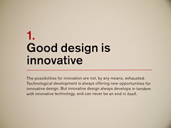 Ten Principles for Good Design: 1