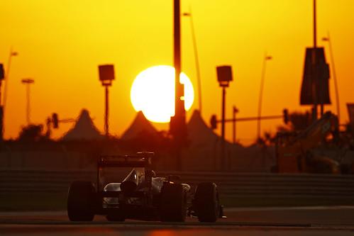 GP de Abu Dhabi de Formula 1, Yas Marina, em 2011 - Renault Sport F1/Flickr