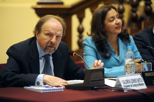 Salomón Lerner (Photo courtesy of Congreso de la República de Perú)