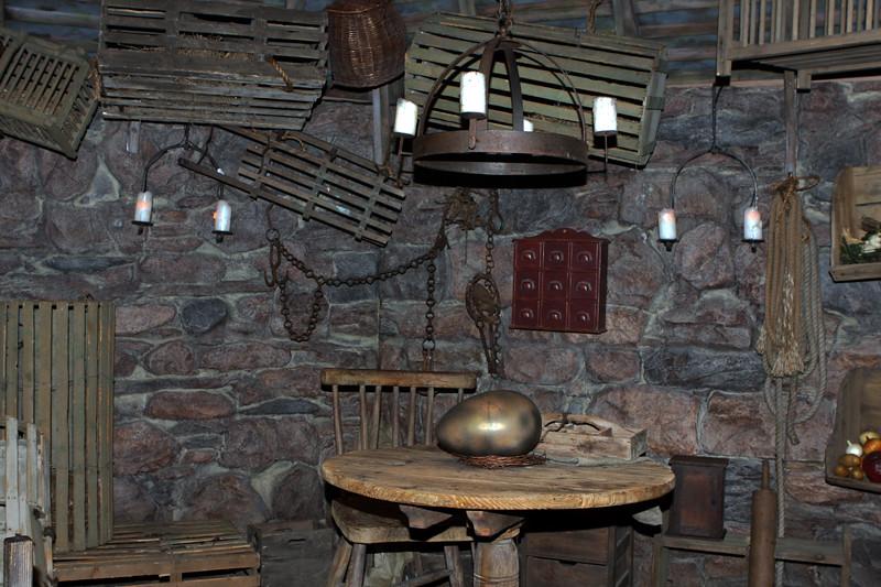 Harry Potter Exhibition cabaña de Hagrid