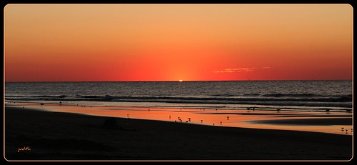 ocean sea beach nature sunrise newjersey sand wildwood