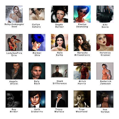 Faces of Moolto top 20 by Babychampagne