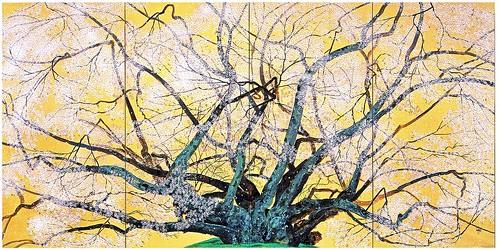 中島千波「素桜神社の神代桜(ポストカード) 1996年 by Poran111