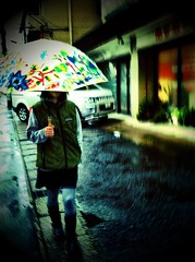 Rain Girl #cameraplus