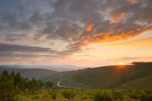 sunset portugal clouds wind generator turbine hdr leiria tamron1024mmf3545diiildsp