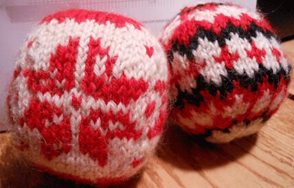 balls by Paula knits