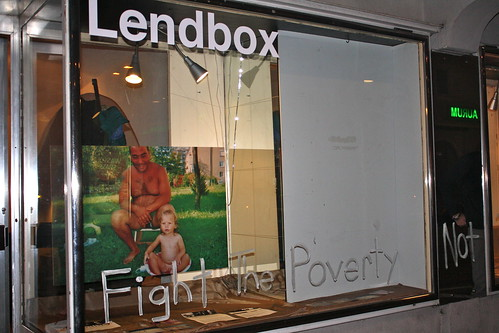"Vernissage ""Fight the poverty not the poor"""
