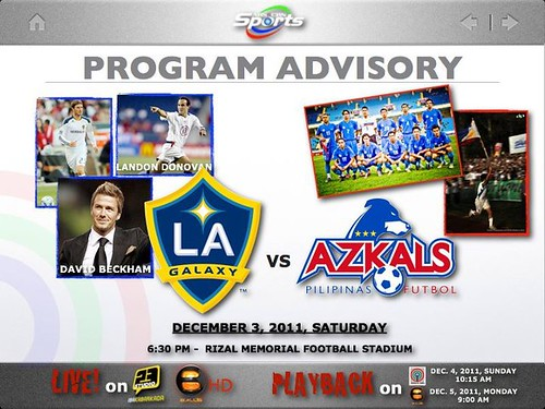 LA Galaxy Philipines Azkals